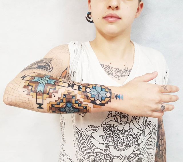 fractal tattoo brian gomes tatuagem