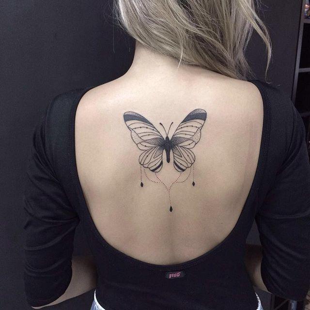 borboleta tattoo art