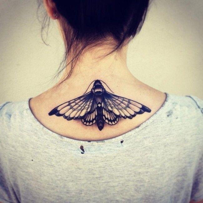 tatuagem feminina borboleta