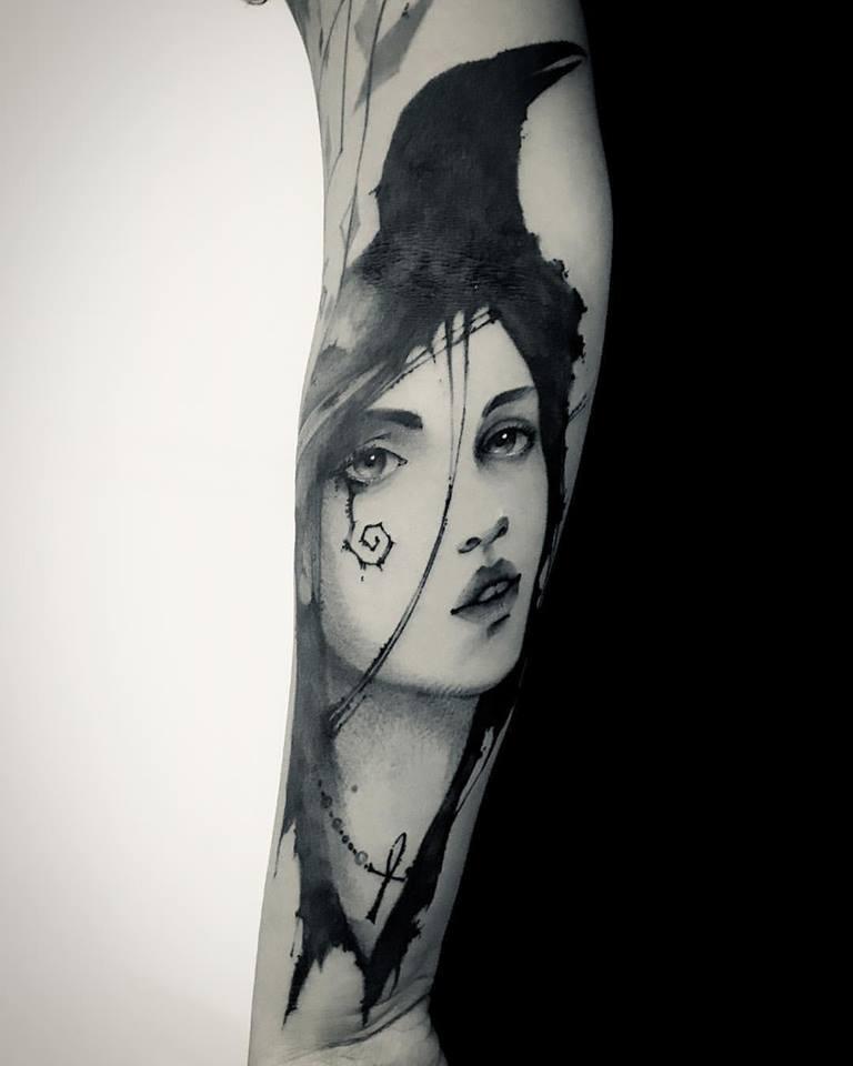 morte tattoo tattoo