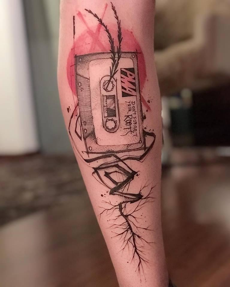 não esqueca suas raizes tatuagem