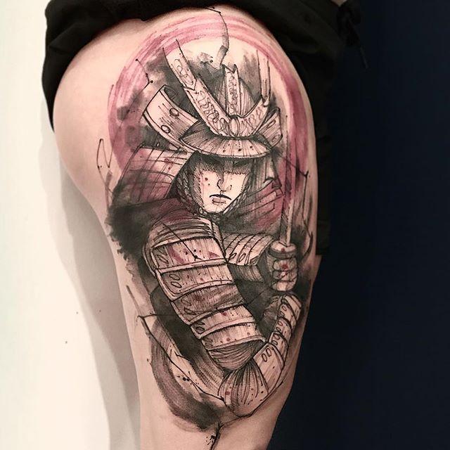 samurai tatuagem - lincoln lima